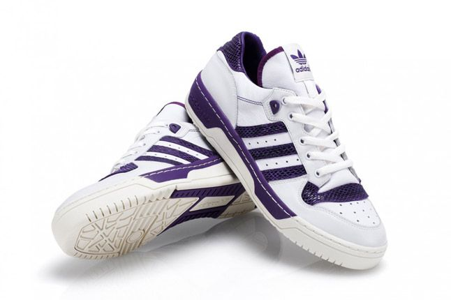 Purple Adidas Rivalry Lo Limited Edition Pair 1