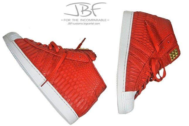Jbf Customs Red Python Adidas Promodel 1 1