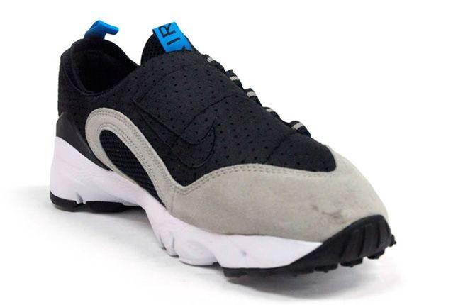 Nike Air Footscape Motion Grey Black Toe Quarter 1