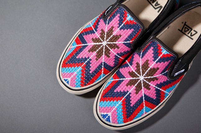 Clot X Vans 2012 Holiday Collection Slip Ons Details 1