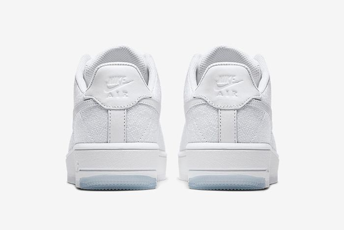 Nike Air Force 1 Low Flyknit White On White7