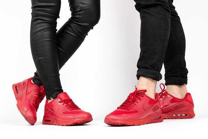 Nike Air Max 90 (University Red/Gym Red