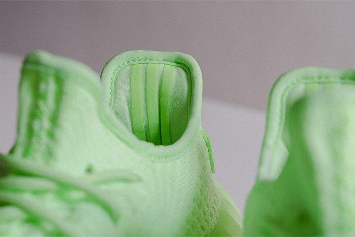 Adidas Yeezy Boost 350 V2 Glow In The Dark Heel