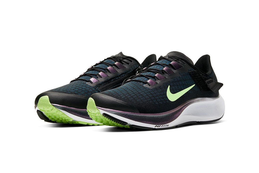 Nike Air Zoom Pegasus 37 FlyEase Front Angle