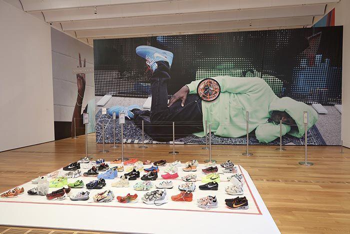 Virgil Abloh Figures Of Speech Exhibition Nike Shoes