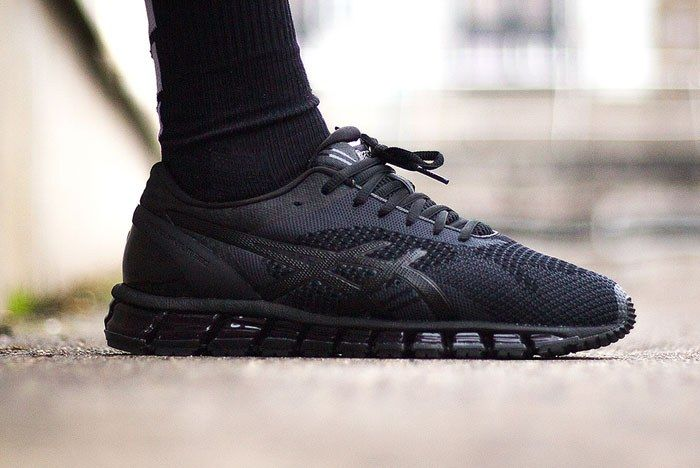 exprimir Meandro Acerca de la configuración  ASICS Gel-Quantum 360 Knit (Triple Black) - Sneaker Freaker
