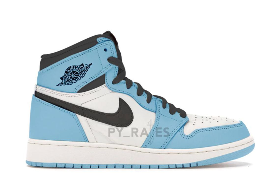 Air Jordan 1 University Blue Right