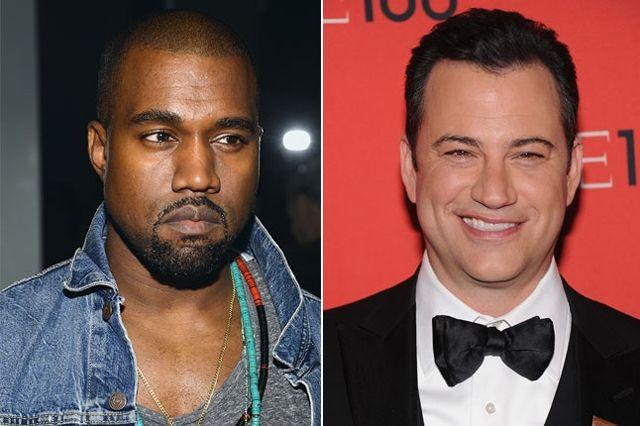 Kimmel And Kanye