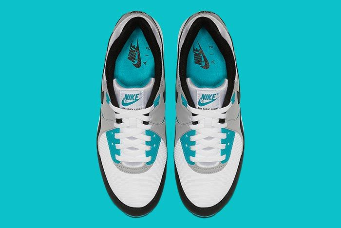 Nike Air Max Light Teal Above Shot