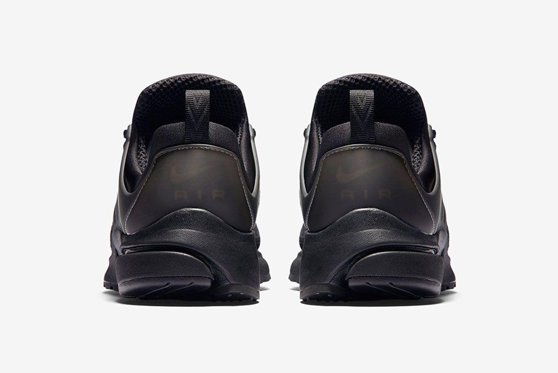 Nike Air Presto Woven Tripe Black 5