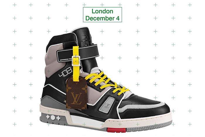 Virgil Abloh Louis Vuitton Lv408 London