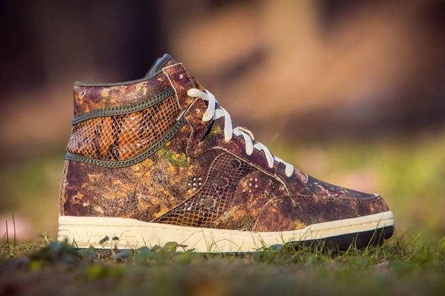 Packer Shoes Saucony Hangtime Woodland Snake 11