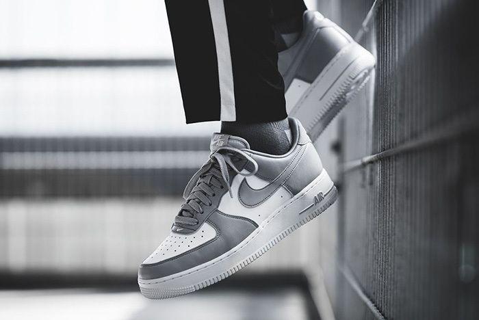 Nike Air Force 1 Low White Grey Release 3 Sneaker Freaker