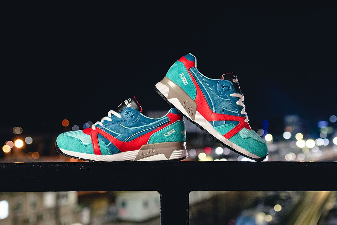 Hanon x Diadora N9000 Alternative Route