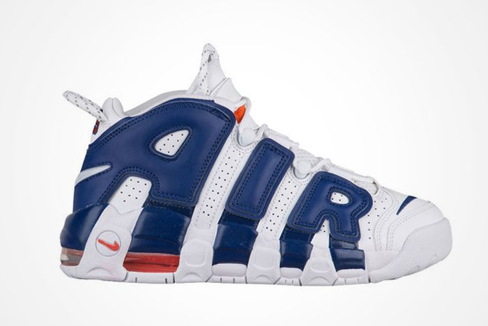 Latest Nike Air More Uptempo Channels Knicks Vibesfeature