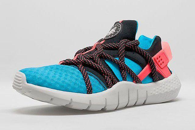 Nike Huarache Nm Blue Crimson 3