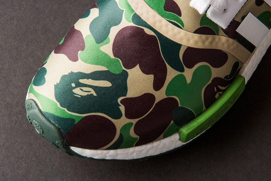 Bape Adidas Nmd 1 St Camo Olive 2