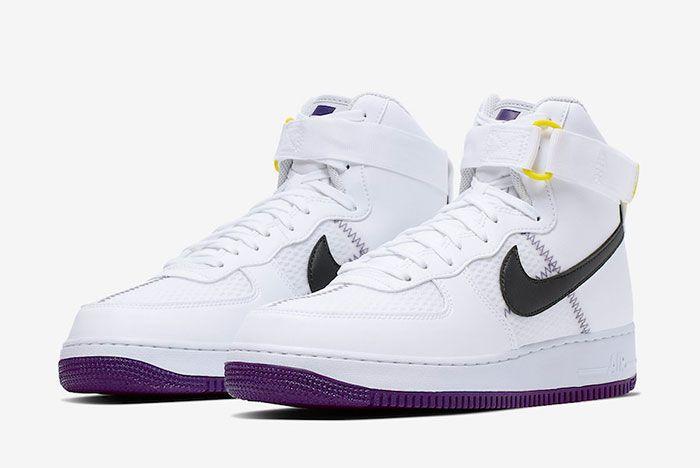 nike air force 1 high top purple