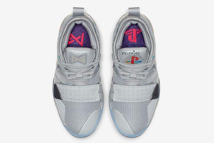 Nike Pg 2 5 Playstation Grey 3