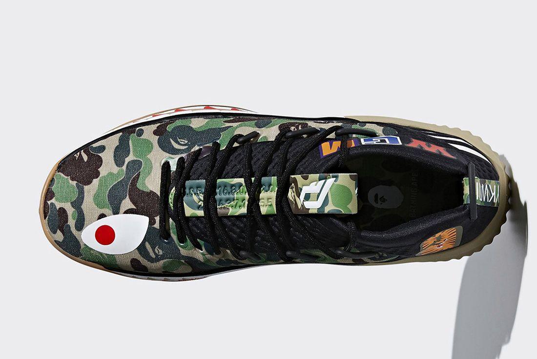 Bape X Adidas Dame 4 Release Date 3