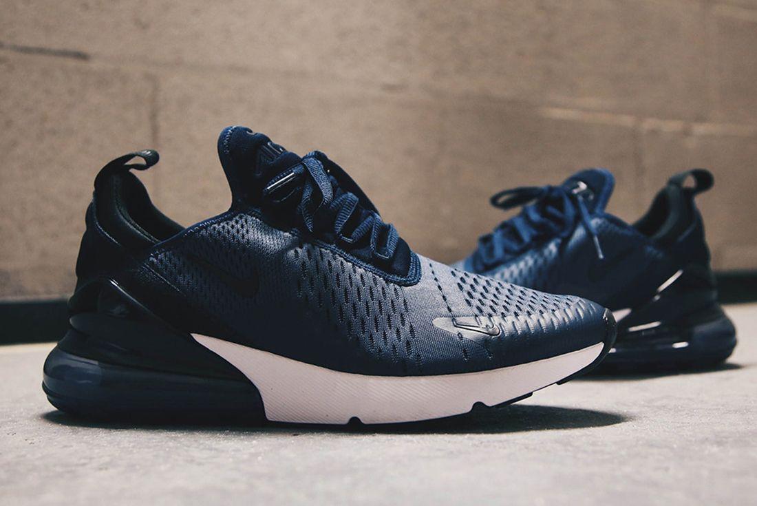 Nike Air Max 270 Midnight Navy Sneaker Freaker 6