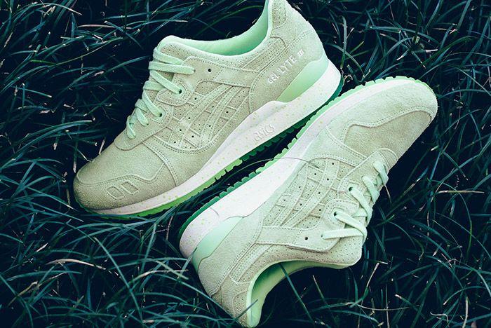 Asics Gel Lyte Iii Apricot Ice Plein Air Patina Green Sneaker Politics 6