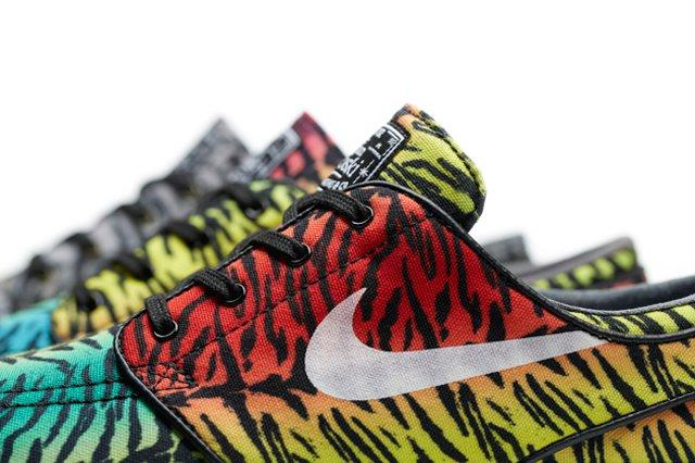 Nike Sb Zoom Stefan Janoski Tiger Pack 1