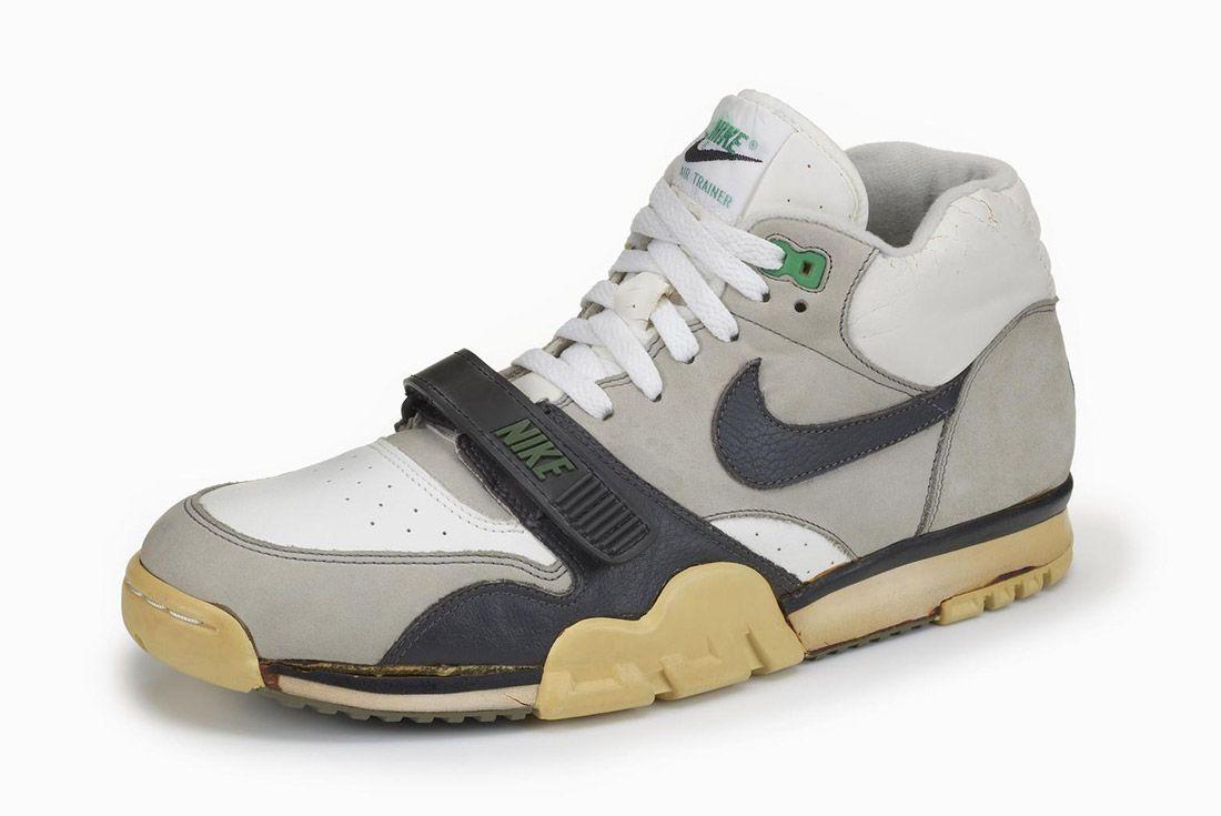Material Matters Alternative Closures Nike Air Trainer 1