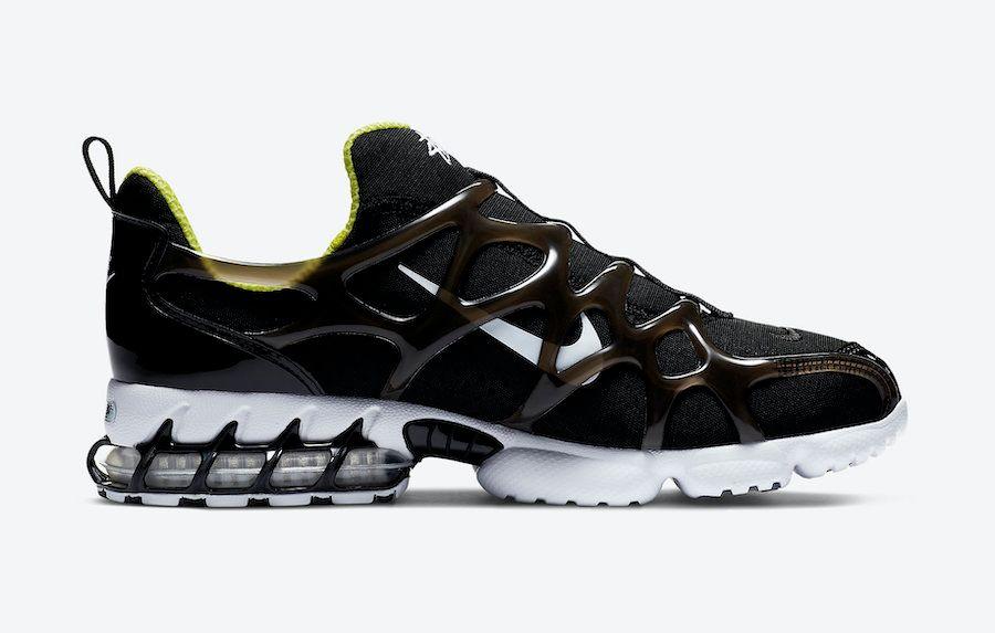 Stussy Nike Air Zoom Spiridon KK Black Right