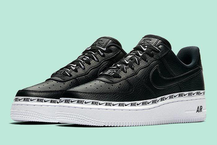 Nike Wmns Af1 Logos Black 1