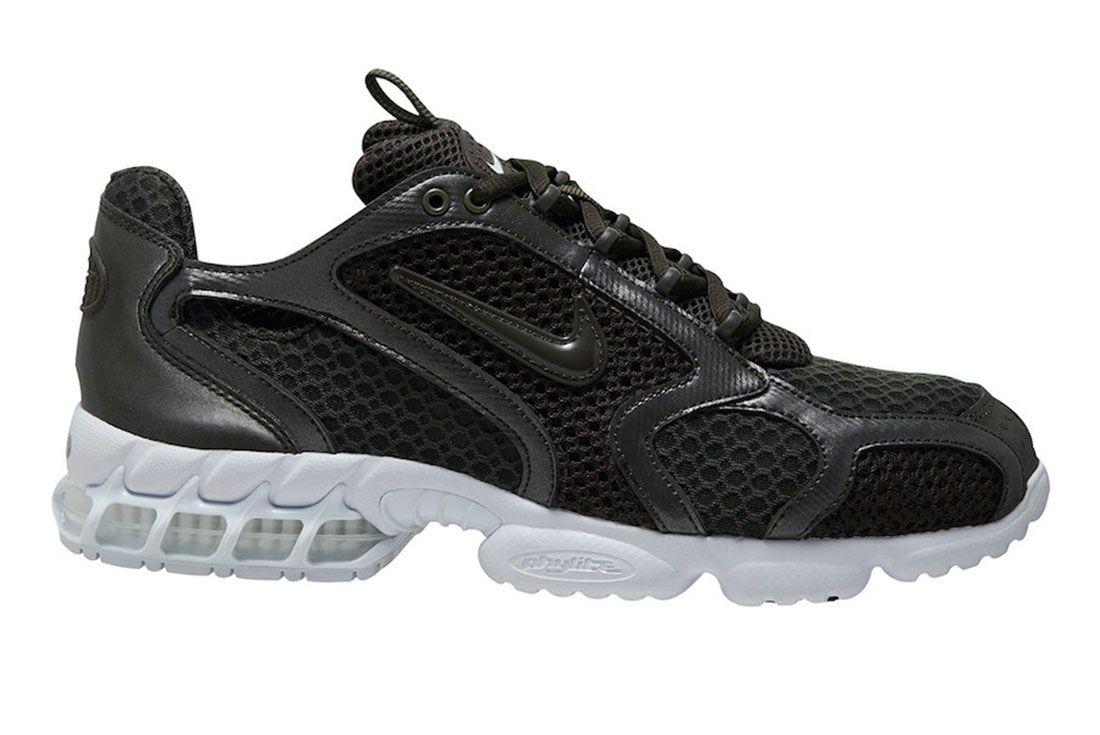 Nike Zoom Spiridon Cage 2 Black White Lateral