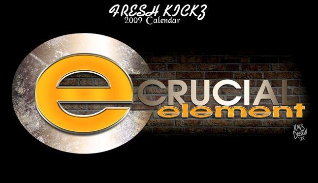 Crucial Element Calendar 1