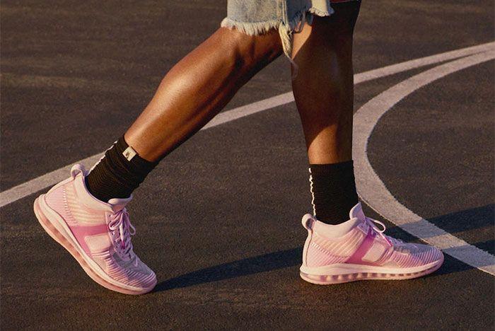 John Elliot Nike Lebron Icon Qs Pink On Foot
