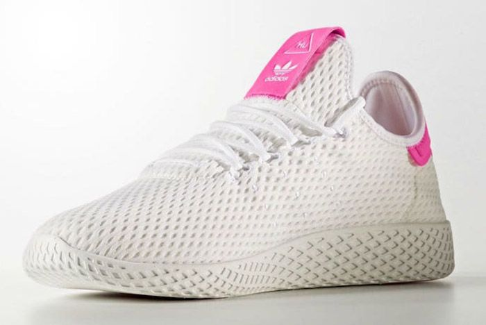 Adidas Pharrell Williams Tennis Hu Pastel Pink 6