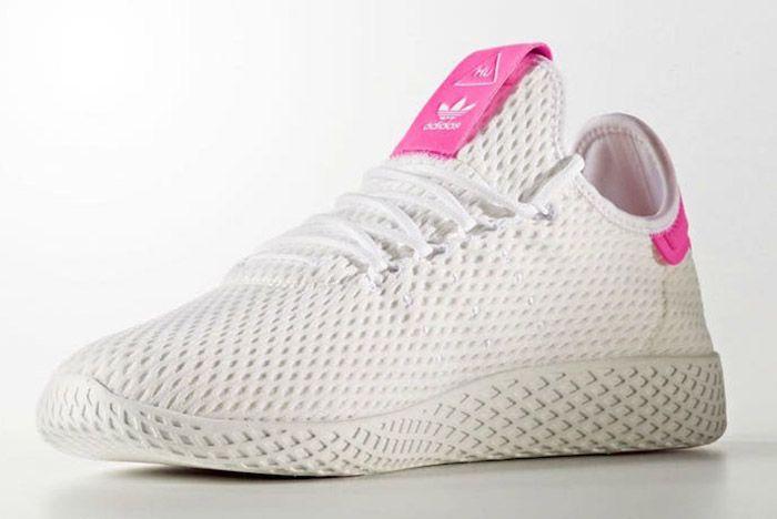 Adidas Pharrell Williams Tennis Hu Pastel Pink 6
