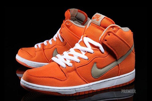 Nikesb Dunk High Pro Orange Bamboo Hero 1