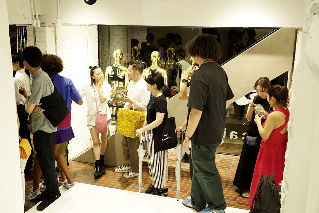 Tokyo Pop Up Launch Sacai X Nike Party3