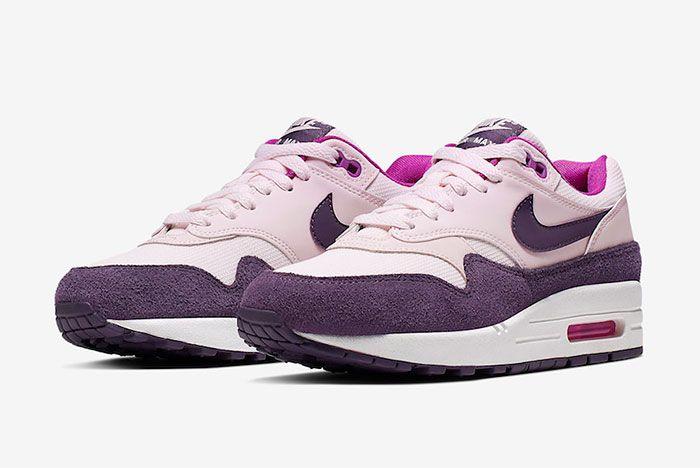 Nike Air Max 1 Grand Purple Quarter