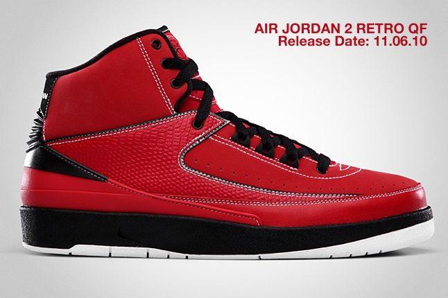 Air Jordan 2 Retro Qf Red 2