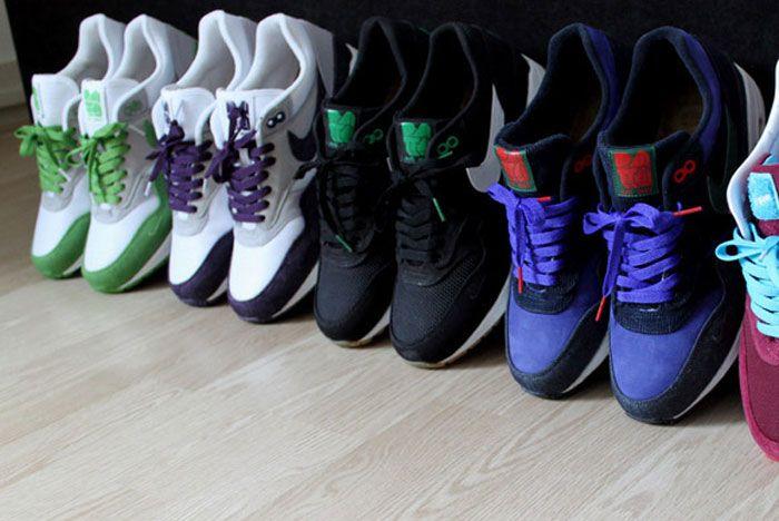 Patta X Nike Air Max 1 5Th Anniversary Row Shot