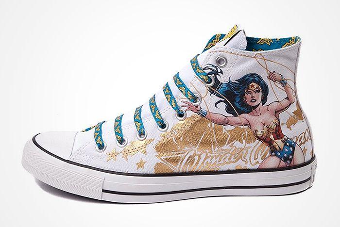 Dc Comics X Converse Chuck Taylor All Star ' Wonder Woman' 2012 Present4