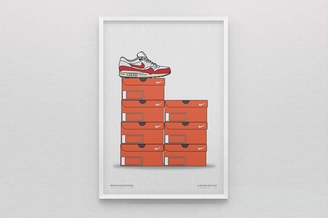 New Range Sneaker Art By Kick Posters 11