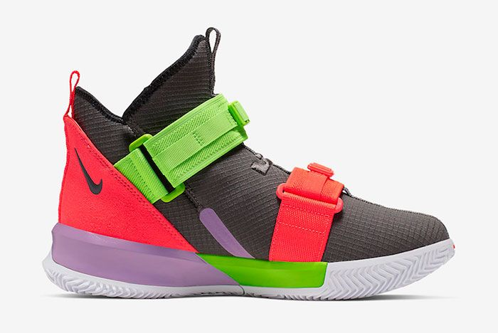 Nike Le Bron Soldier 13 Thunder Grey Ar4228 002 Release Date 2