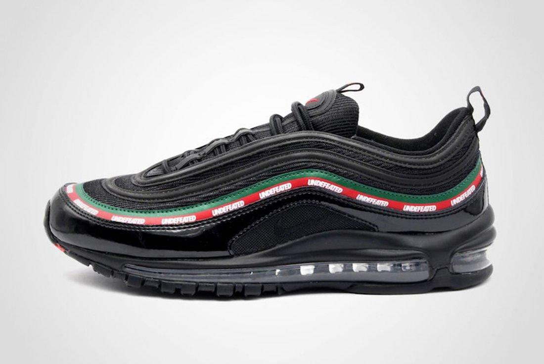 Undefeated X Nike Air Max 97 1 1