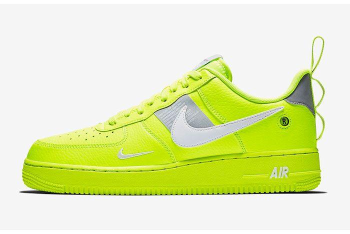 Nike Air Force 1 Utility Volt Aj7747 700 Release Date Sneaker Freaker