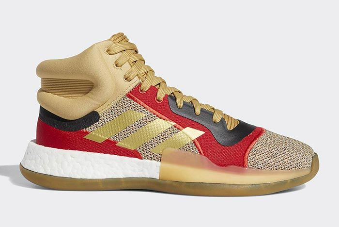 Adidas Marquee Boost Gold 1