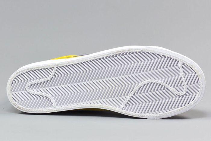 Nike Sb Blazer Mid Tour Yellow2