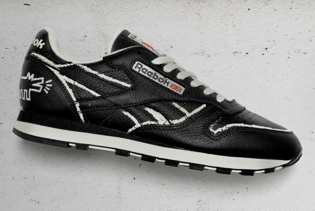 Keith Haring x Reebok Classic Leather