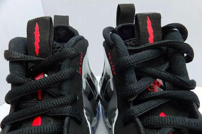 Nike Air Foamposite One Camo Tongue Detail 1