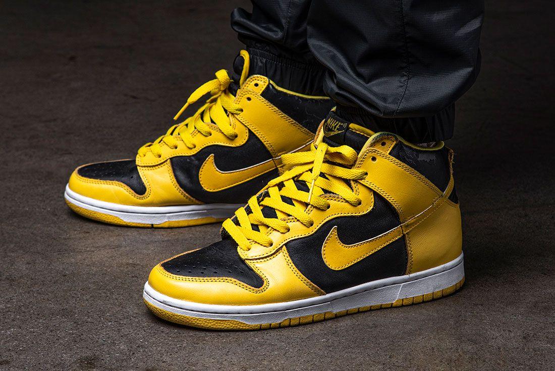 Sneaker Freaker Minh Nike Dunk 1999 Goldenroad On Foot